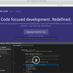Microsoft Visual Studio Code Preview and .NET core on Linux