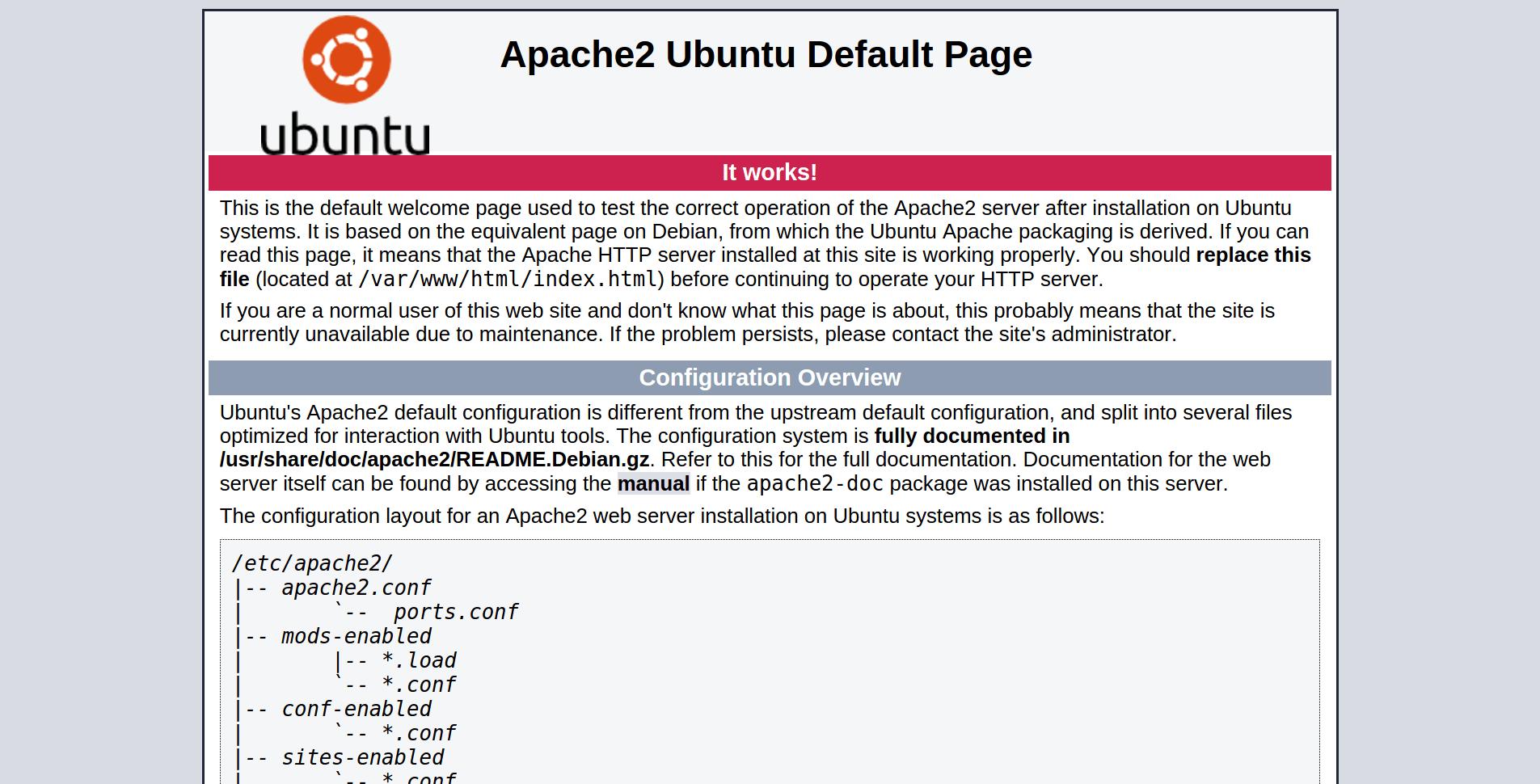 Apache2UbuntuDefaultPage