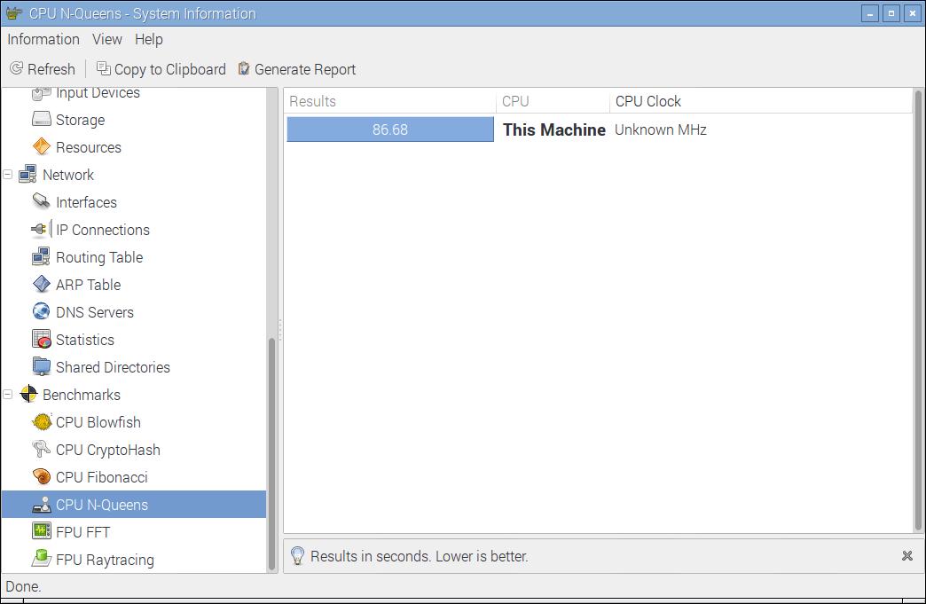 RPi-Ver1-ModelB-Hardinfo-CPU-N-Queens