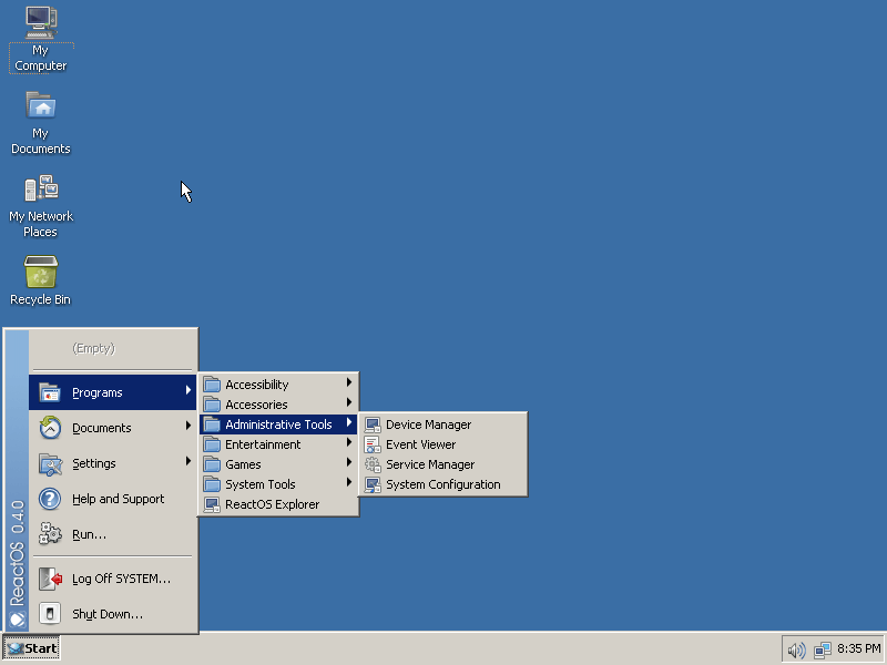 reactos_livecd_start_menu_4