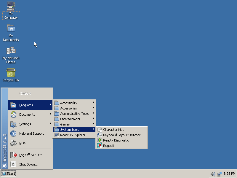 reactos_livecd_start_menu_7