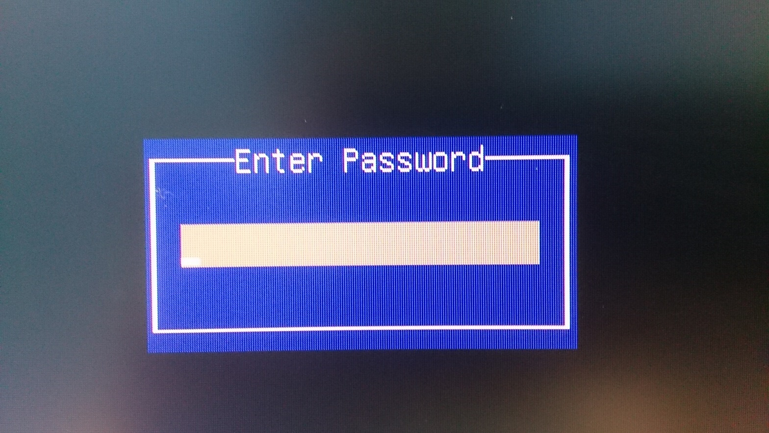 UP Board Enter Password